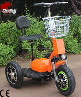 ES04D 3 wheels electric scooter zappy scooter