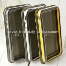 Silicone bumper case for iPhone 4 4S