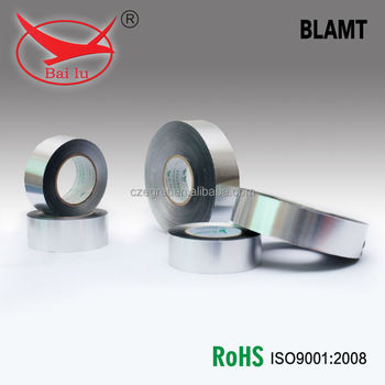 Bailu Heat resistant conductive Aluminum Foil Tape With Coated Membrance For Refrigeration systems