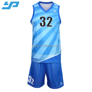 High quality sublimation custom latest basketball jersey design 2017