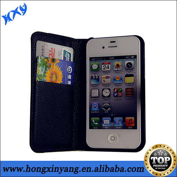 2014 best brands mobile phone leather case