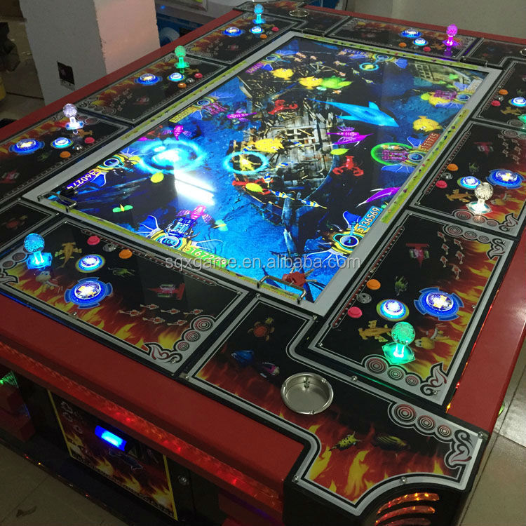 Fishing video table arcade game hot sale fishing game for How to play fish table game