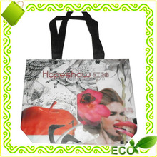 2017 hot sale factory offer BOPP lamination colorfull gravure printing reusable tote shopping pp nonwoven promotional bag