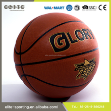 2016 good quality new custom leather basketball , basketball balls , Rubber basketball