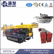 HFDX-6 full hydraulic quarry drilling equipment