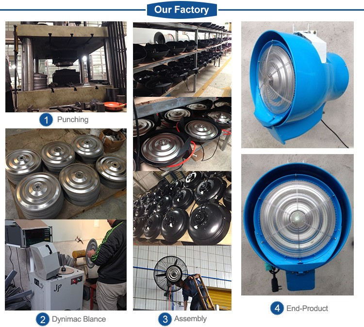 Wall water mist fan for Agriculture & Industrial application