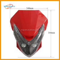 2016 Hot Sale High Quality And Different Colorsr Headlight For Motorcycles For Sale