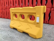 Plastic Water or Sand Filled Road Safety Barriers plastic jersey barrier