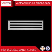 Ceiling vent cover air conditioning aluminum linear slot diffuser