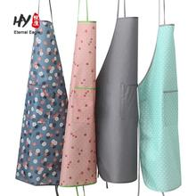Many styles cheap cotton plain decorate aprons