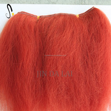Fluffy doll hair Angola soft mohair material for dolly wigs and wefts