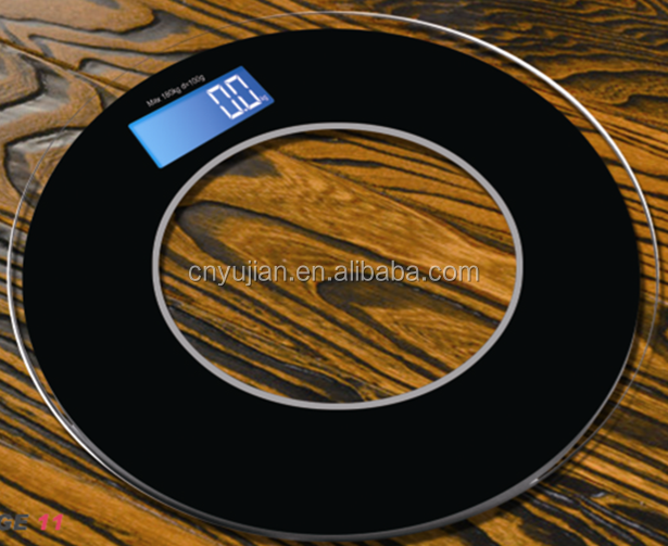 MJ-2060 High Quality Digital bathroom scale LED Display or LCD red backlit display 180kg