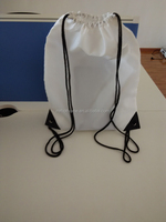 Soccer Shoe Bag/Polyester Drawstring Bag