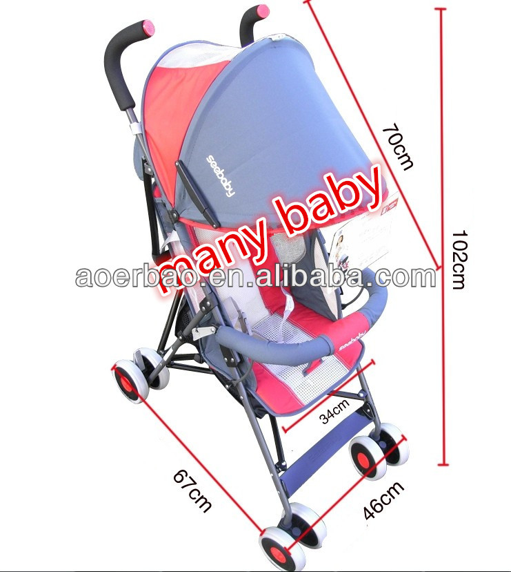 new band style electric motor baby stroller with double brake