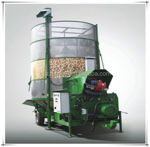 Jiangtai supply Mobile Grain Dryer used for drying grain, mobile corn dryer,mobile rice paddy dryer mobile maize dryer
