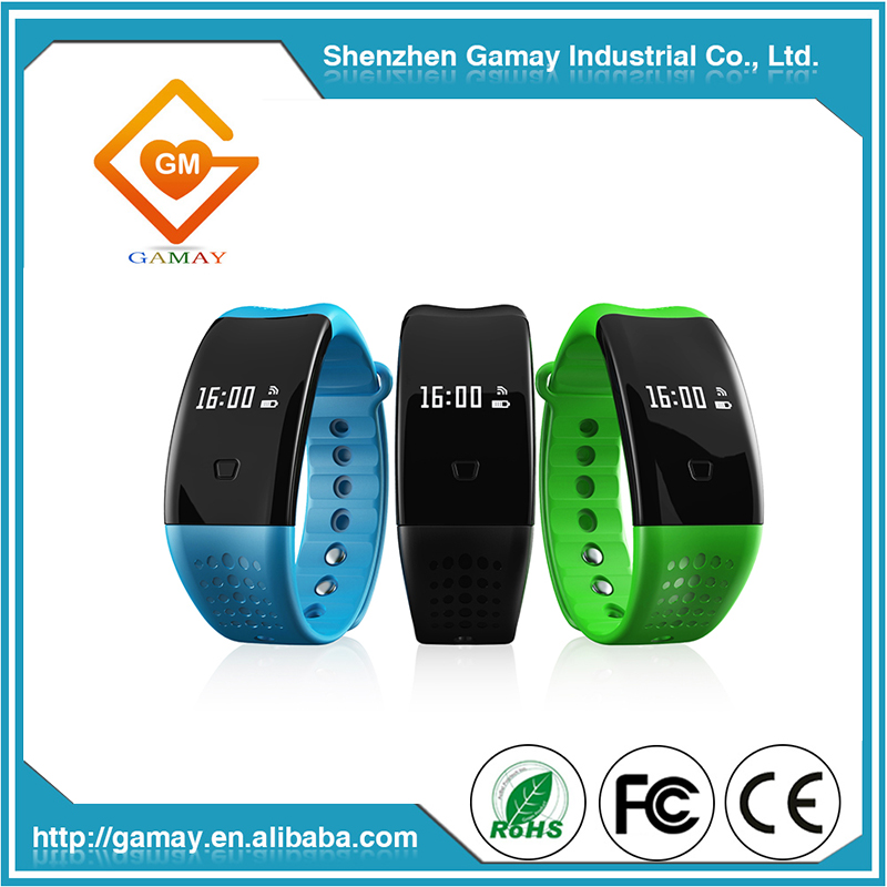 New Arrival Blood Oxygen Heart Rate Monitor Smart Wristband IP67 Pedometer Fitness Tracker
