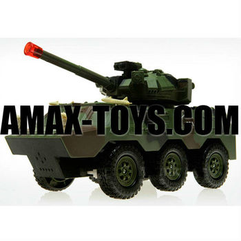 rb-11900951 rc armored car 1:20 Emulational remote control armored car with sounds and lights