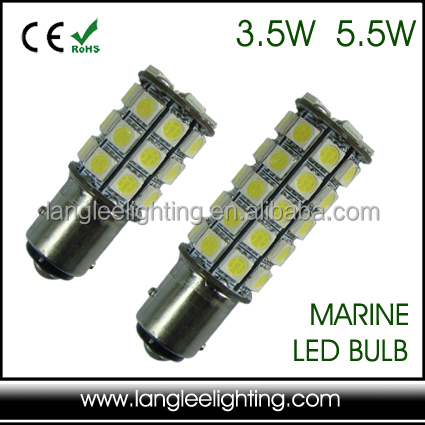 9-32V B15 BAY15d BA15d Offset Pin Marine Bulb Ship Navigation Signal Replacement Lantern Ship LED Light Bulb