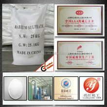 India lower price barita 6000 mesh barium sulphate precipitated