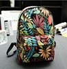Promotional Cheap Backpack Floral Printing Backpack in cool design