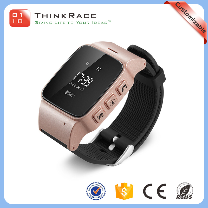 Fashion elderly watch MT6261 gps tracker with more functions on our platform