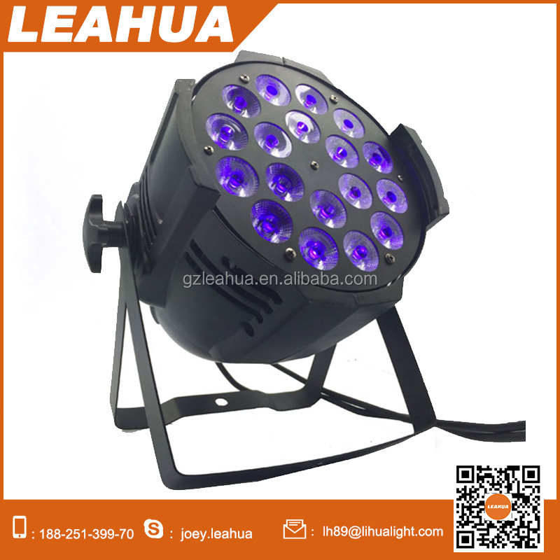 China produce rgbwa uv 6in1 best price 18*15w led par 64