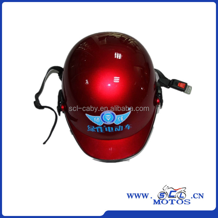 SCL-2012040586 red motorcycle helmet for good quality