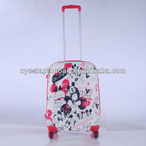 waterproof carry on trolley hard case custom made luggage