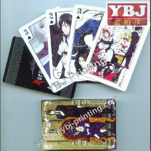 custom guangzhou ybj uno playing cards