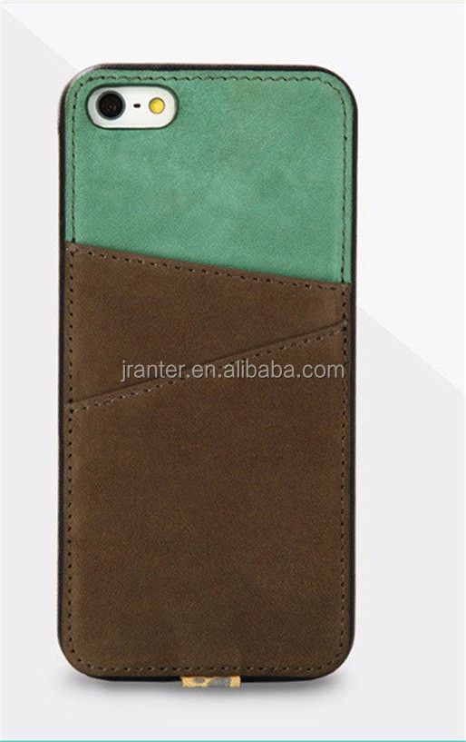 Jranter Back Cover for Cell Phone OEM Genuine Leather Case Cover for iPhone 6