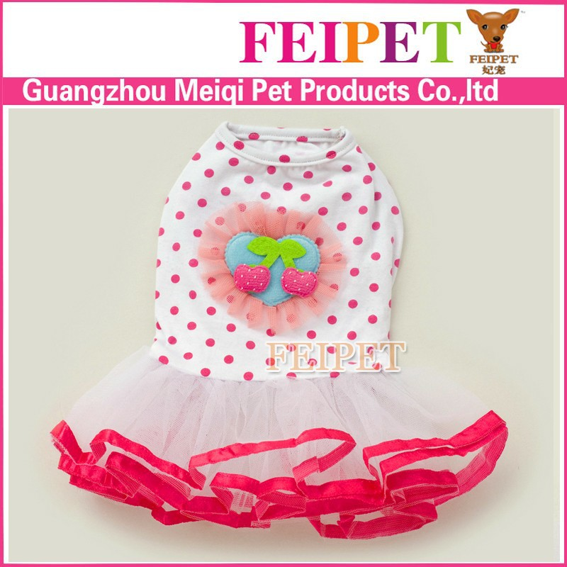 luxury pet layered skirts feipet name brand dog clothes small sizes