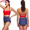 Custom your brand name young girl very popular korean hot sex swimsuit