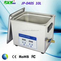 industry 10L ultrasonic water bath 40KHz industrial ultrasonic cleaning machine with drainage
