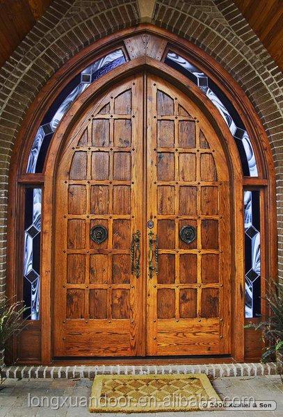 Gothic doors gothic church doors for Best wood window brands