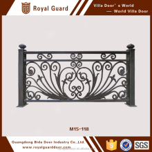 Factory Customize Aluminum Decorative Garden Handrail Aluminum Guardrail Metal Railings