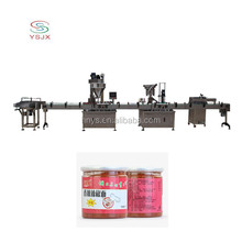 milk / coffee / protein powder cans / tins / jars / bottles automatic powder filling line