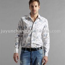 100%cotton branded low price casual shirts