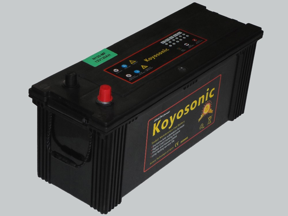 Good qualitry12v 60Ah Automative battery for car starting