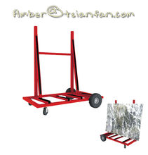 Tsianfan SD027 | High capacity Removable Stone Slab Storage Rack on Wheels