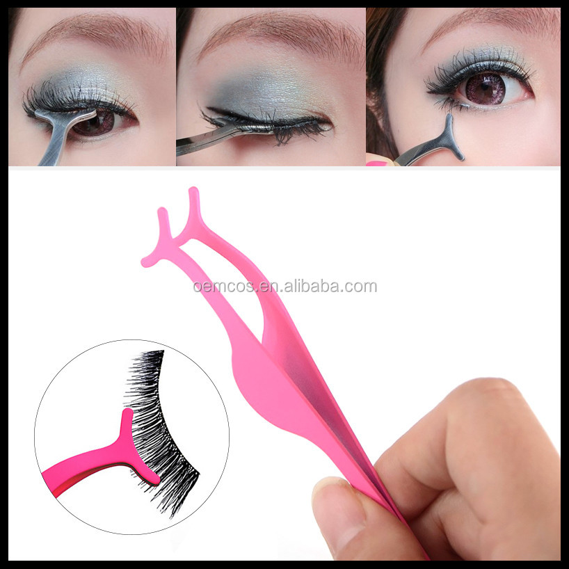 False Eyelashes Extension Applicator Remover Clip Tweezers Nipper