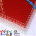 PC Triple wall X Structure Polycarbonate Hollow Sheet from Chinese factory