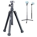 2017 new design lightweight aluminum tripod for mirrorless camera for action camera P058
