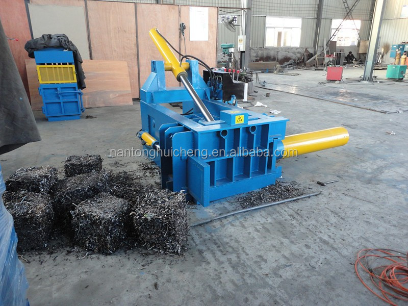 hydraulic copper scrap metal baler machine