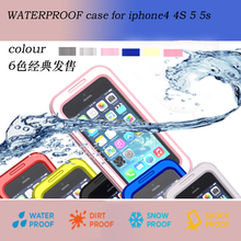 Waterproof case for iphone4 4S 5 5S MA101