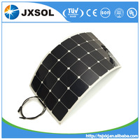 2015 Alibaba hot sale semi flexible solar panel 100w mono with high efficiency