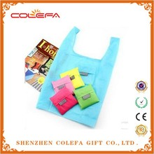 Fashion Handbags Candy Color Foldable Tote Shopping Bags Reusable Shopping Market Bag