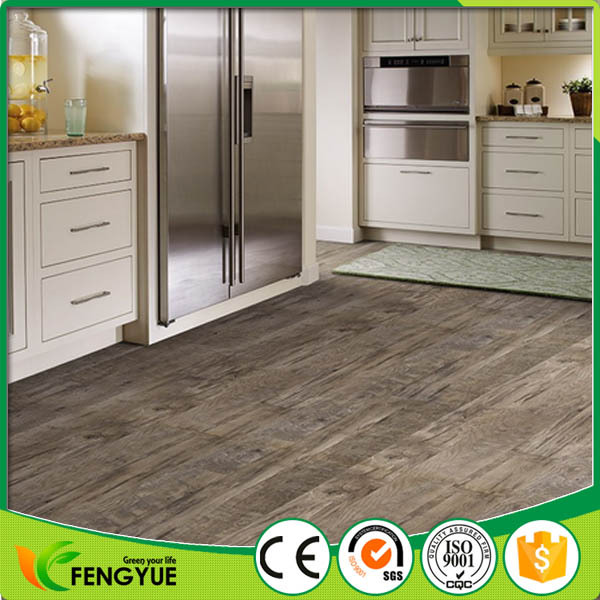 Bathroom vinyl design anti-slip floor tiles for interior decoration