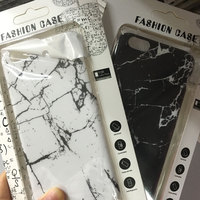 for iphone 6 custom printed marble hard pc material phone case