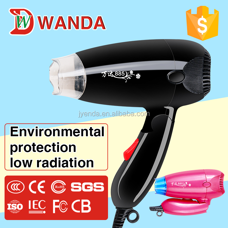 New Arrival Travel folding Hair Dryer with DC motor foldable Hairdryer