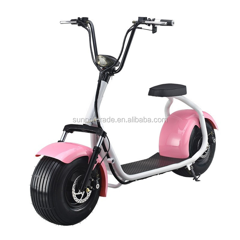 Green Transportation-Lithium Battery Electric City Scooter High Power Hydraulic disc brakes Electric Citycoco/Autobike